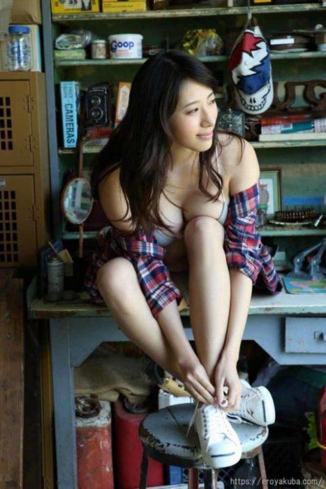 染谷有香 画像048