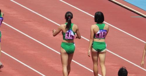 女子陸上選手画像025