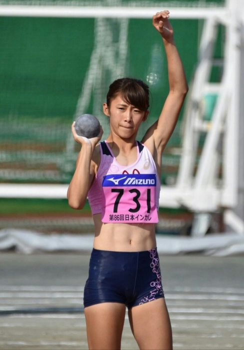 女子陸上選手画像058