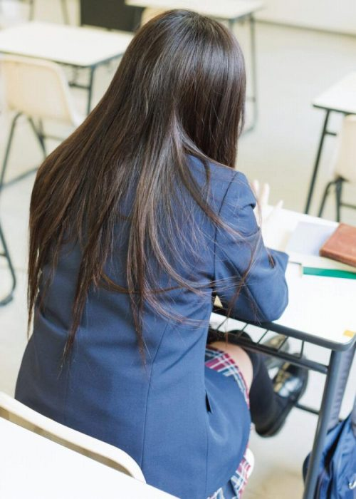 黒髪女子 エロ画像015