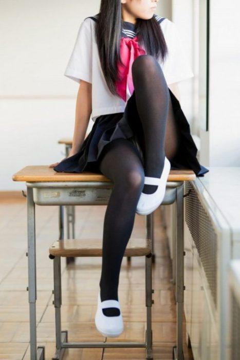黒髪女子 エロ画像036