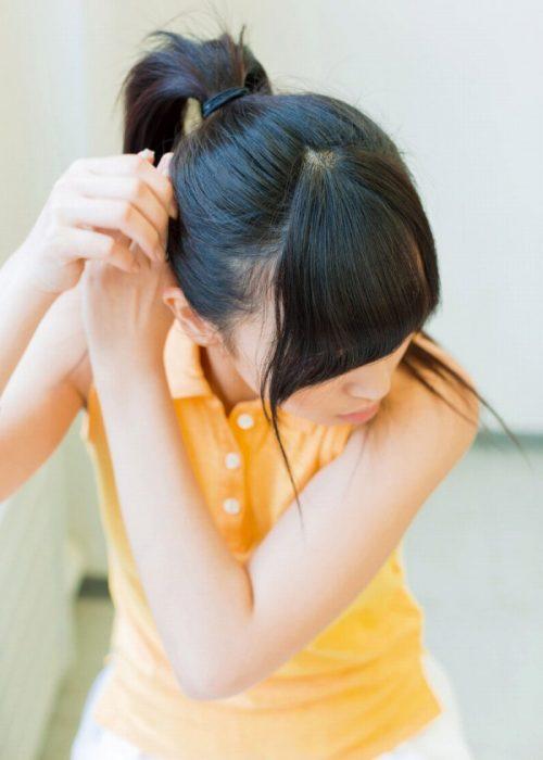 黒髪女子エロ画像117