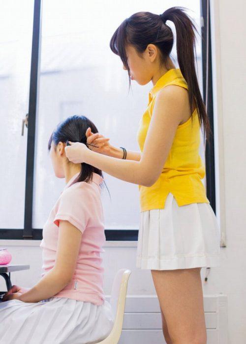 黒髪女子エロ画像118