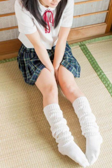 黒髪女子エロ画像121