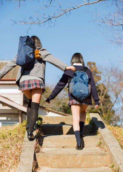 黒髪女子エロ画像143