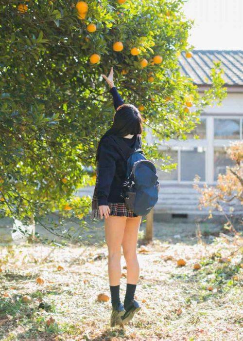 黒髪女子エロ画像144