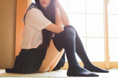 黒髪女子エロ画像147