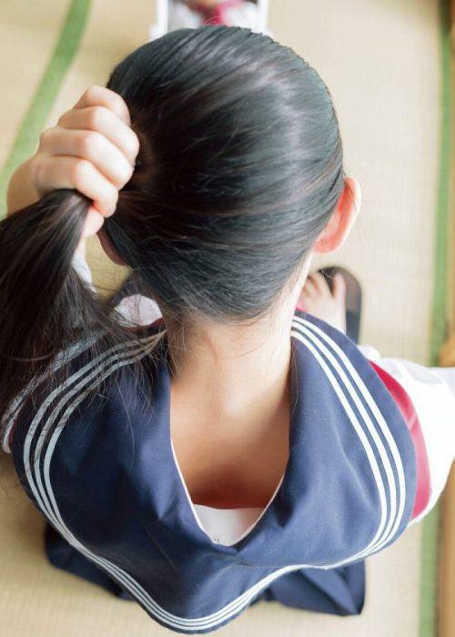 黒髪女子エロ画像151