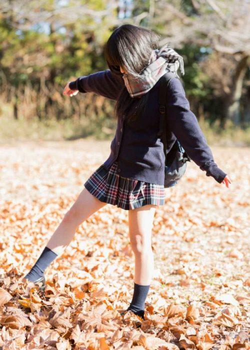 黒髪女子エロ画像174