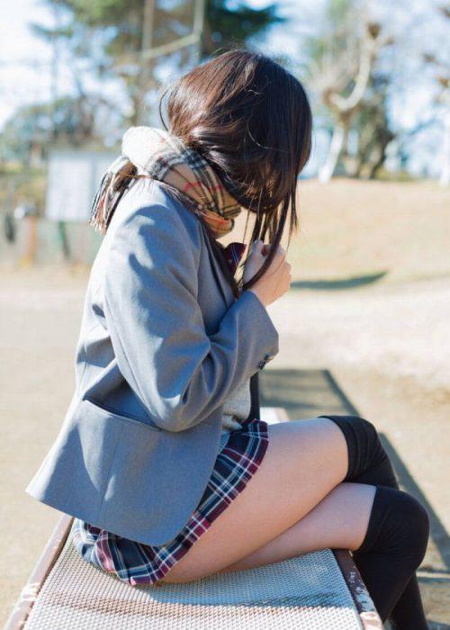 黒髪女子エロ画像181