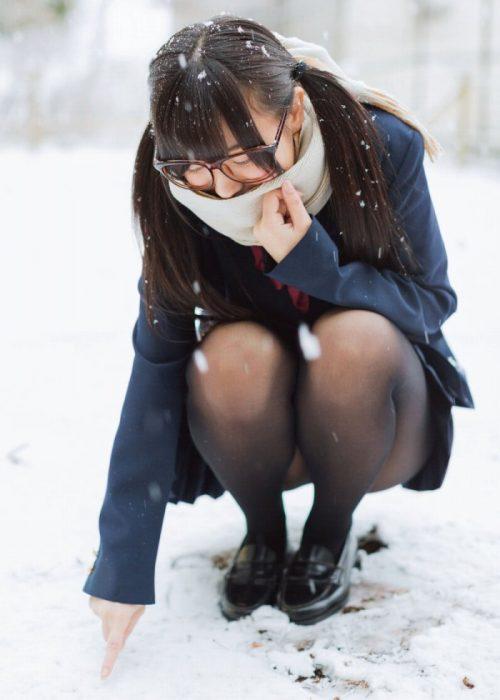 黒髪女子エロ画像201