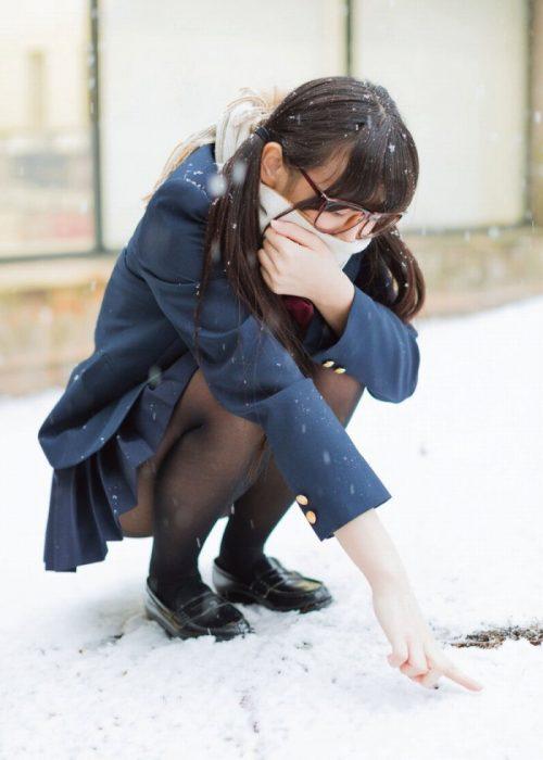黒髪女子エロ画像202