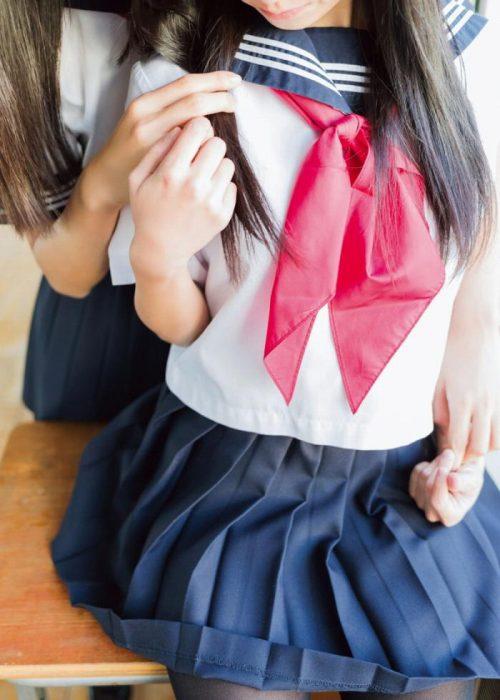 黒髪女子エロ画像238