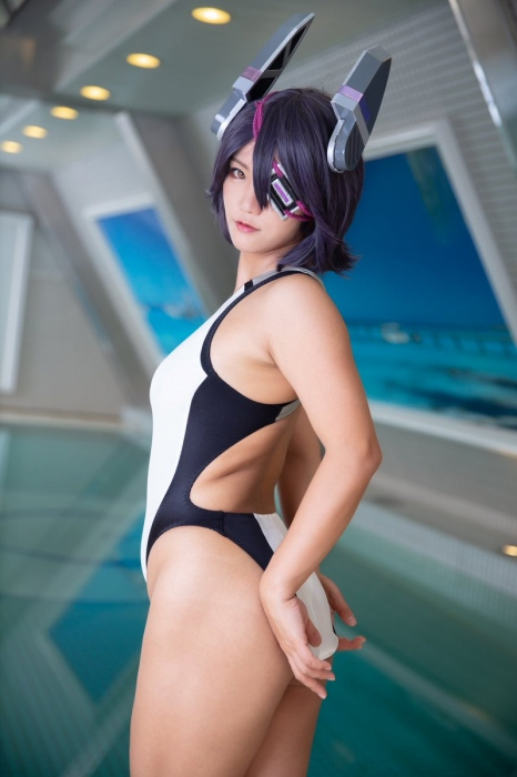競泳水着 エロ画像131