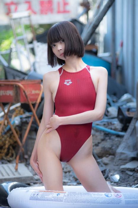 競泳水着 エロ画像173