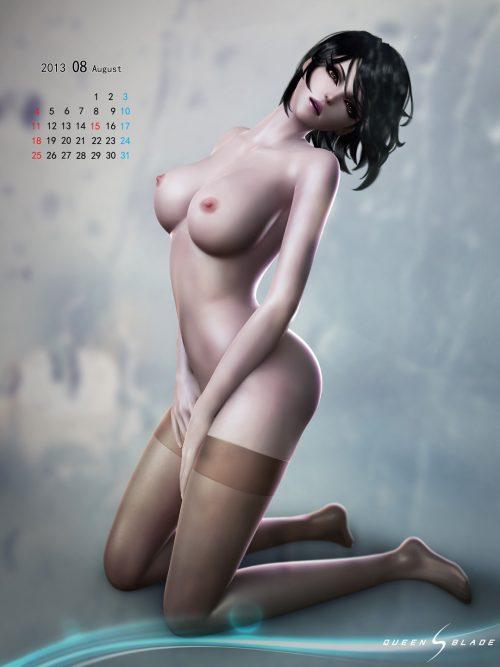 3DCG美女 二次元エロ画像018