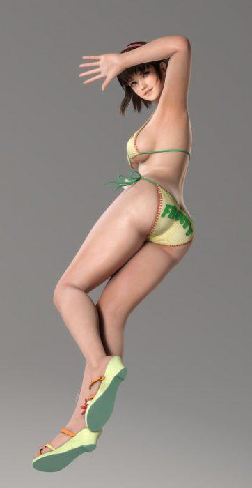 3DCG美女 二次元エロ画像047