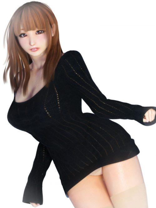 3DCG美女二次元エロ画像112