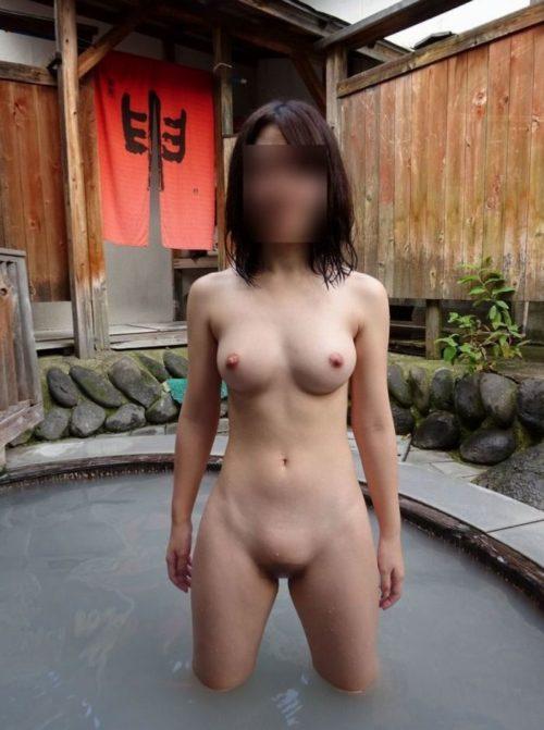 素人温泉エロ画像042