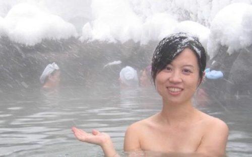 素人温泉 エロ画像115