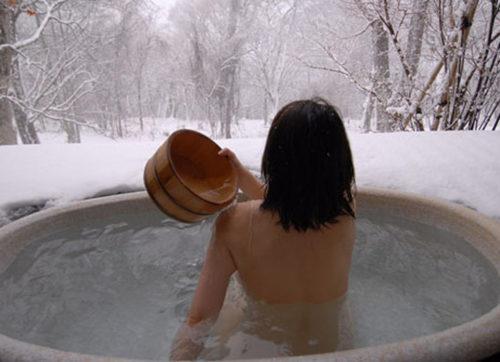 素人温泉 エロ画像120