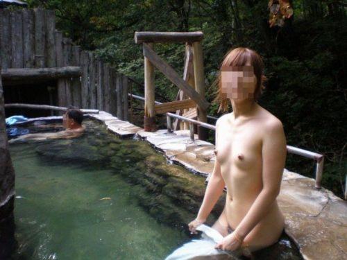 素人温泉 エロ画像136
