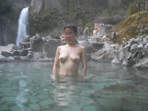 素人温泉 エロ画像145