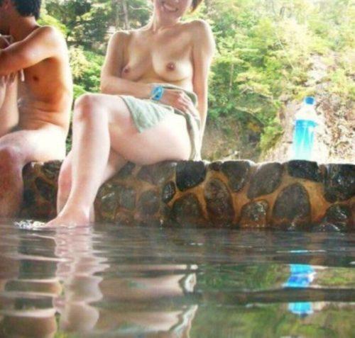 素人温泉 エロ画像156