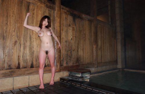 素人温泉 エロ画像163