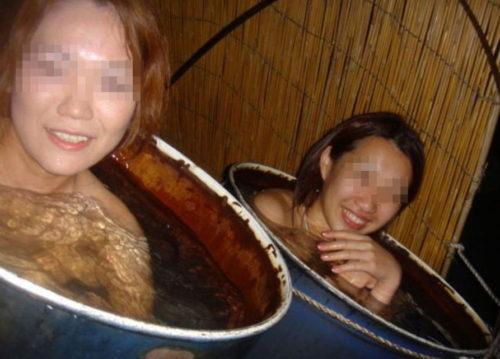 素人温泉 エロ画像171
