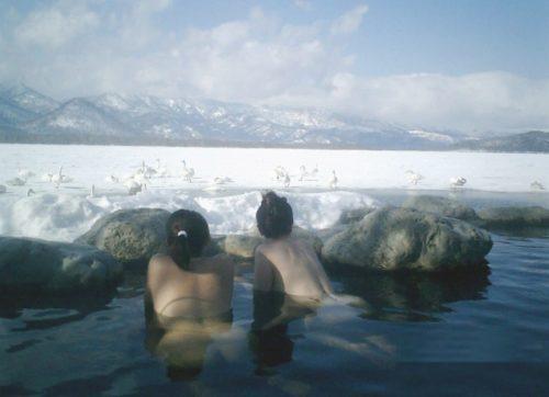素人温泉 エロ画像188