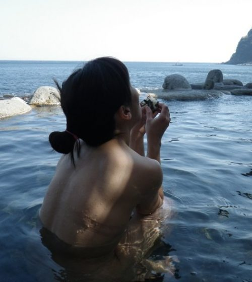 素人温泉 エロ画像192