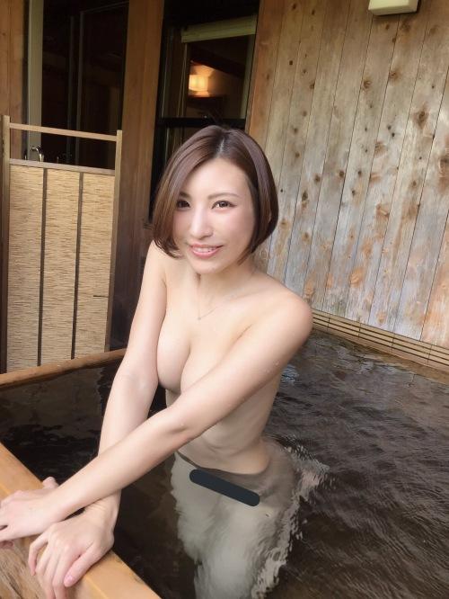 素人温泉 エロ画像209