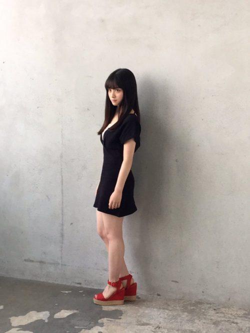 橋本環奈グラビア エロ画像133
