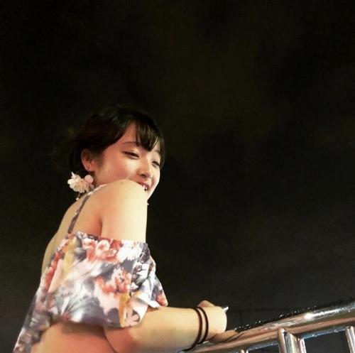 ナイトプール素人エロ画像052