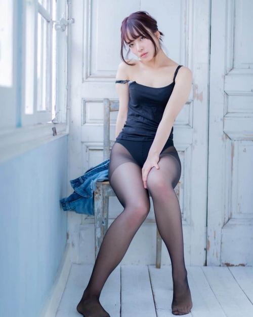 黒タイツ JKパンスト画像01_129