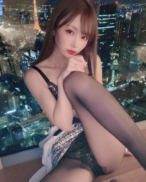 黒タイツ JKパンスト画像01_143